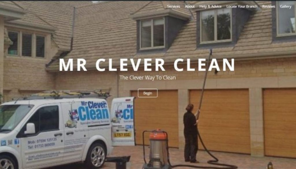 Mr Clever Clean Website